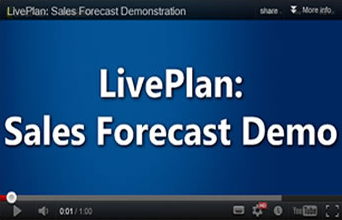 Sales Forecast Demo Video